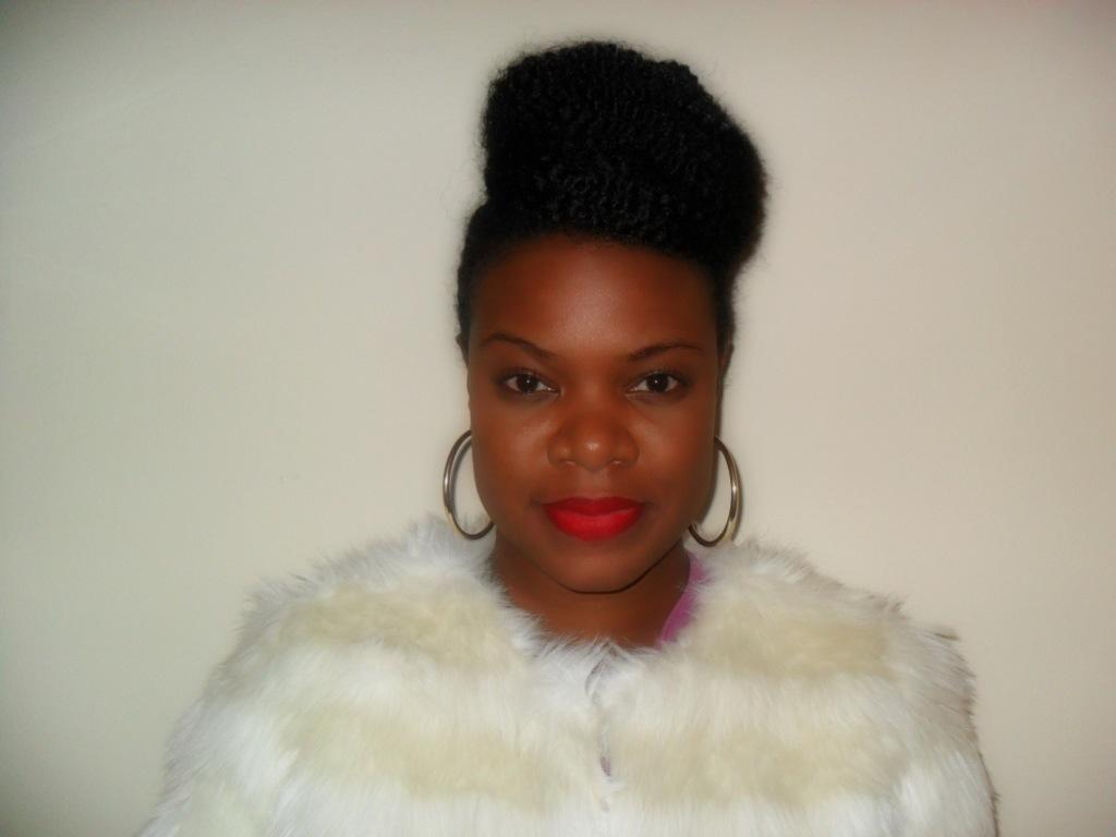 Updo with Marley Braid Hair