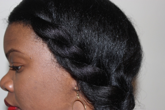 close up of twists